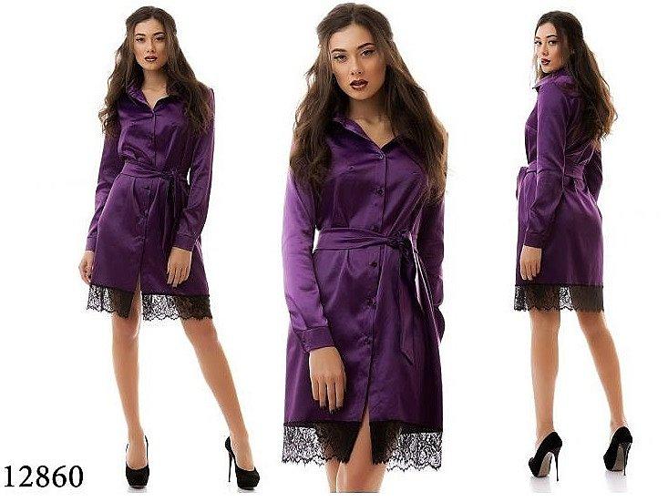 Купить-атласное-вечернее-платье